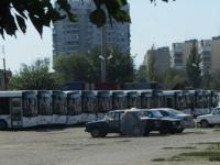 Автобусы МАЗ-206 в гараже ООО Автолайн К