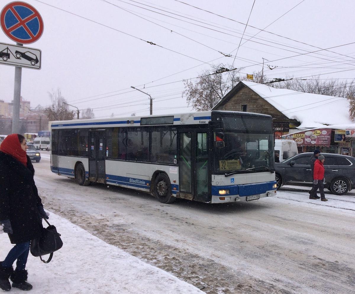Пермь. MAN A21 NL263 е317тр
