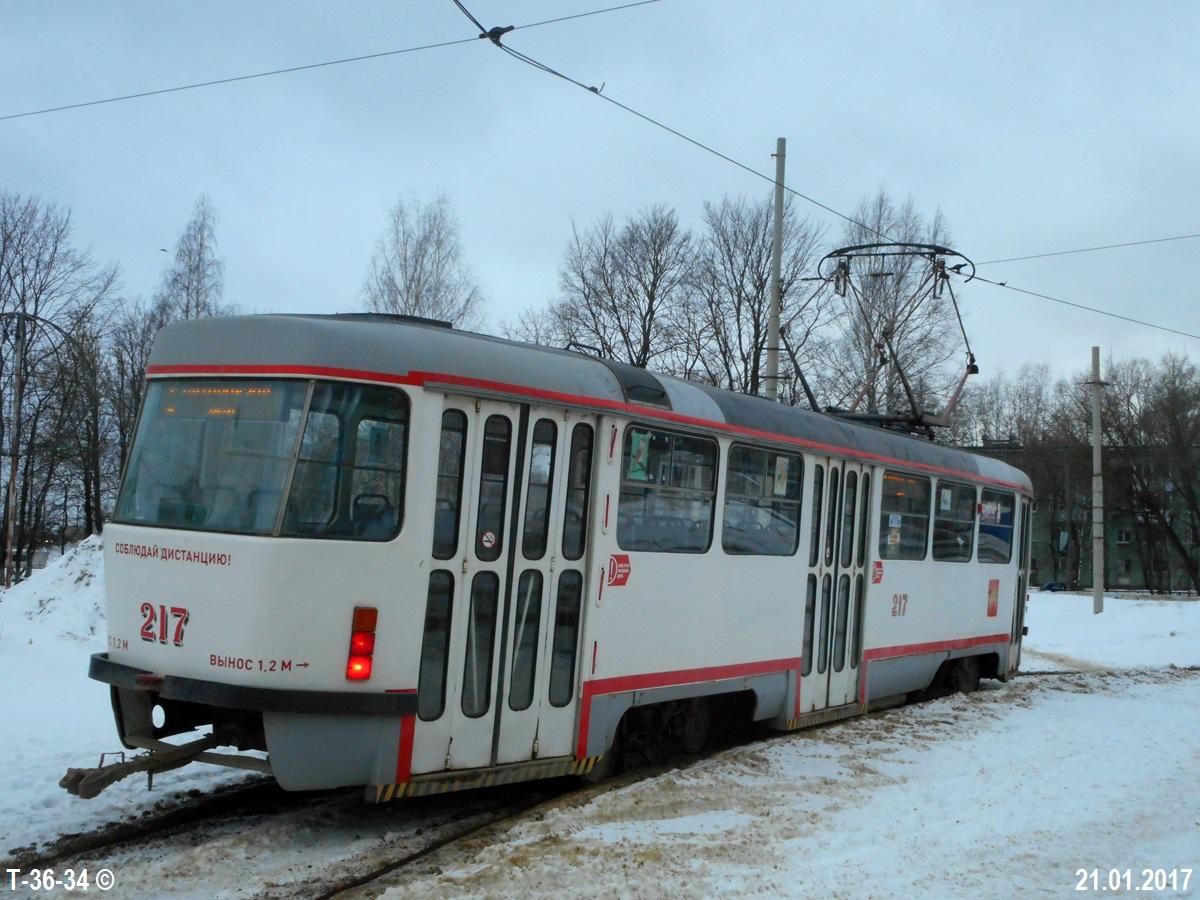 Тверь. Tatra T3SU №217