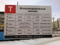 Расписание трамваев маршрутов №№1, 2 и 5 по конечной станции Вокзал