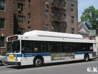 Нью-Йорк. New Flyer C40LF AU1711