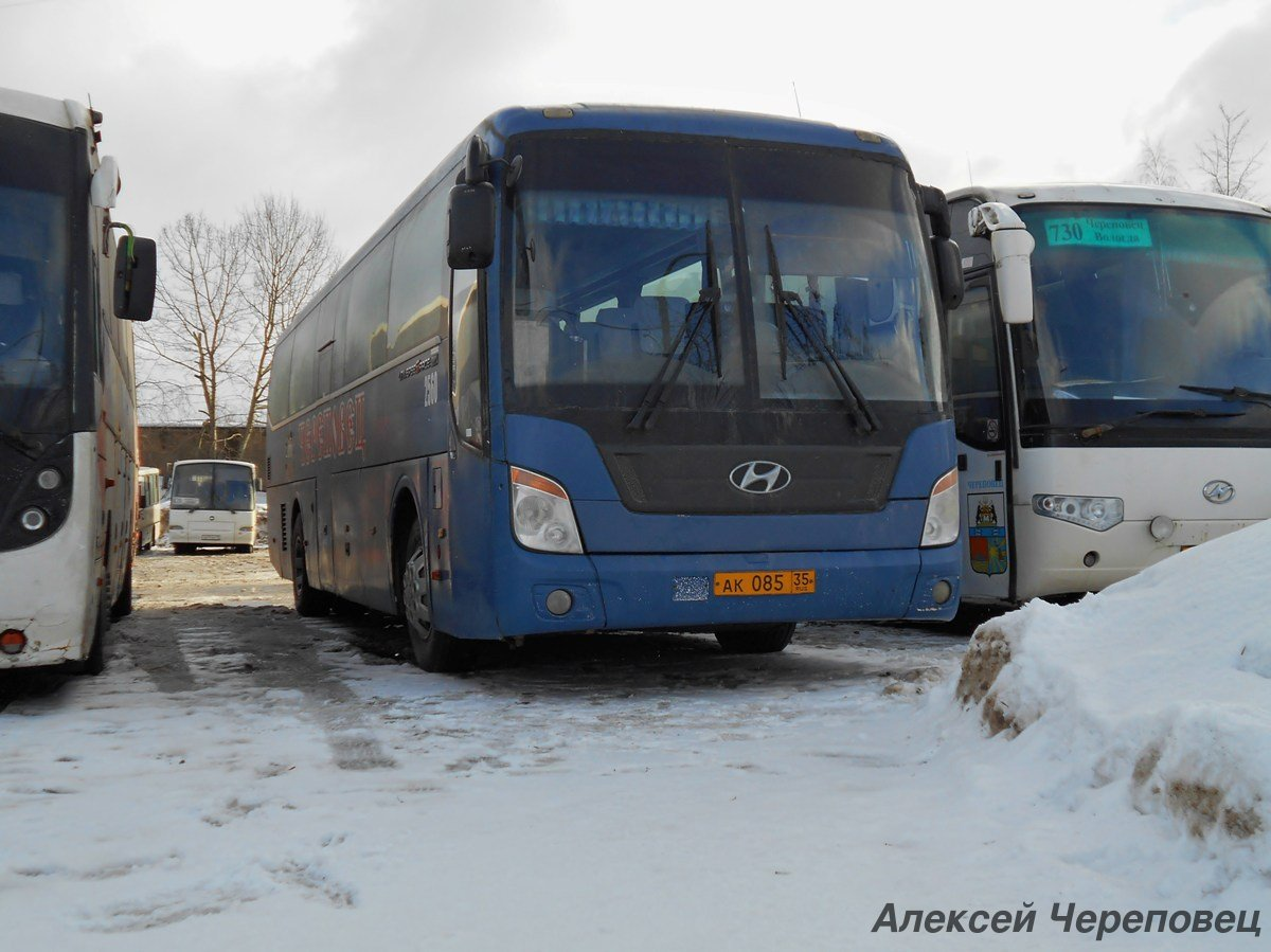 Череповец. Hyundai Universe Space Luxury ак085