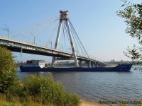 Череповец. Сухогрузный теплоход Сормовский-3054 смешанного река-море плавания дедвейтом 3850 тонн и мощностью 1280 кВт