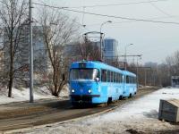 Москва. Tatra T3 (МТТЧ) №1327