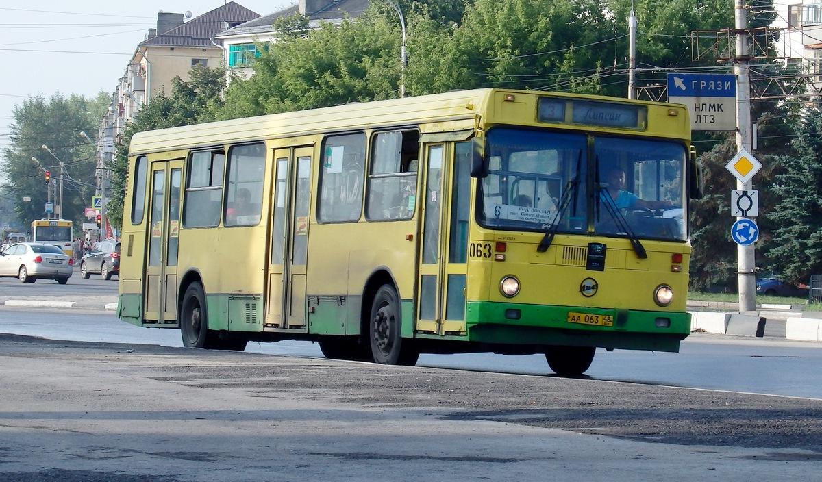 Липецк. ЛиАЗ-5256.40 аа063