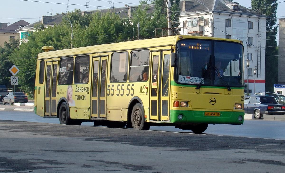 Липецк. ЛиАЗ-5256.26 ас454