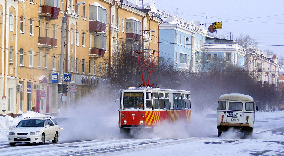 Комсомольск-на-Амуре. ВТК-24 №7, КАвЗ-3976 м268ем