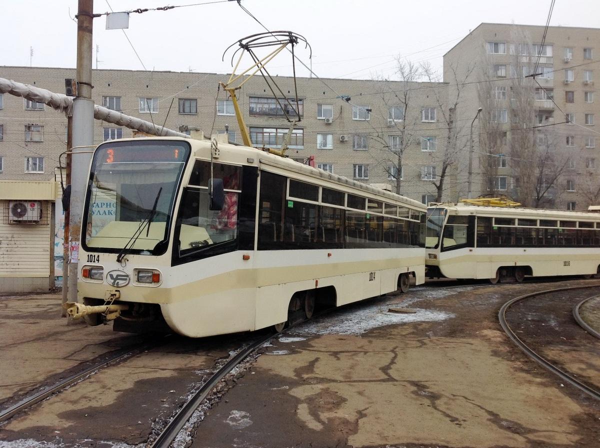 Саратов. 71-619КТ (КТМ-19КТ) №1014