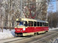 Москва. Tatra T3 (МТТЧ) №3406