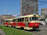 Москва. Tatra T3 (МТТЧ) №3416