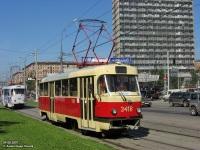 Москва. Tatra T3 (МТТЧ) №3418