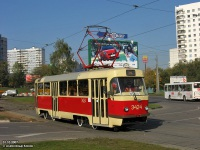 Москва. Tatra T3 (МТТЧ) №3424