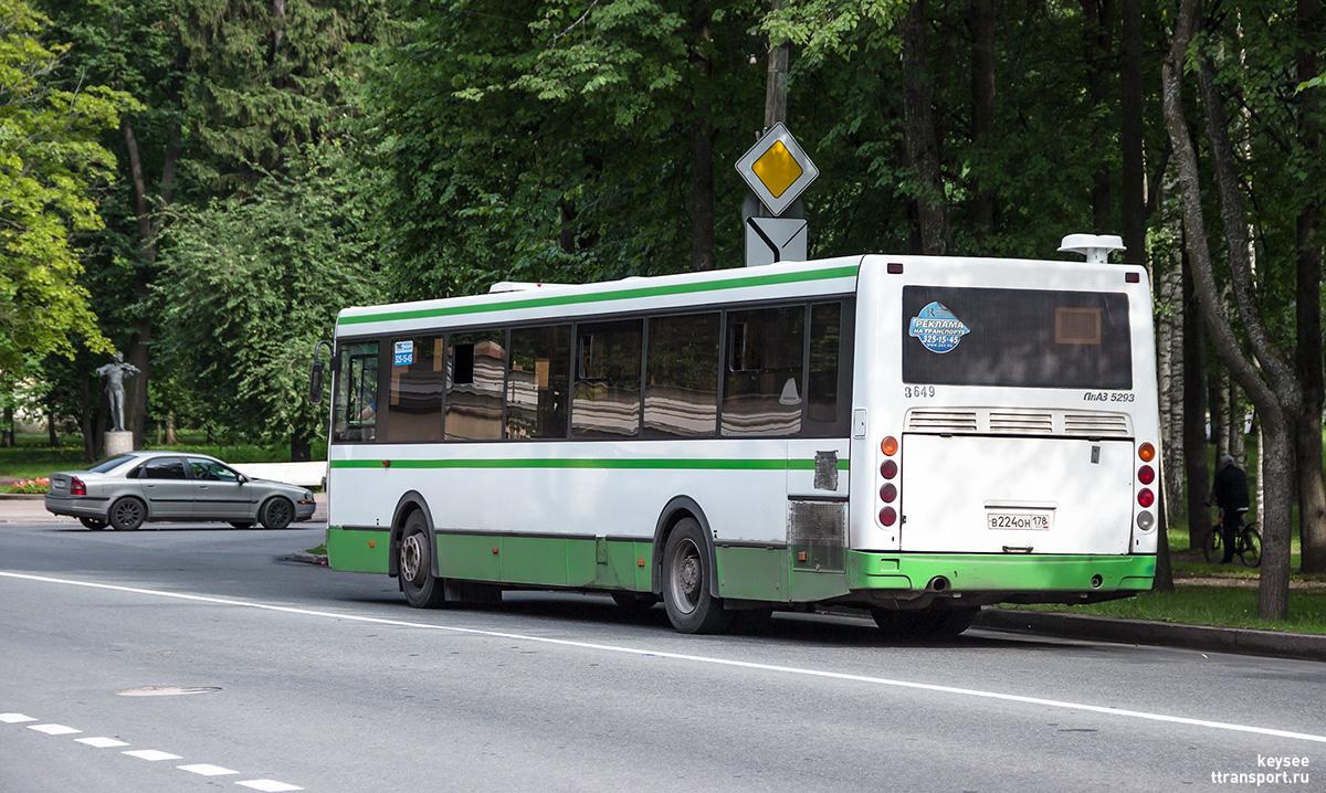 Санкт-Петербург. ЛиАЗ-5293.60 в224он