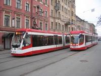 Санкт-Петербург. АКСМ-843 №5212, 71-631-02 (КТМ-31) №7402