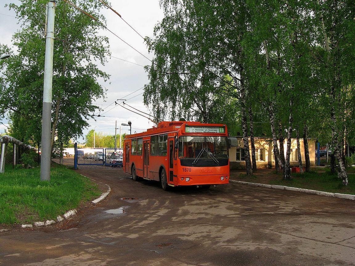 Нижний Новгород. ЗиУ-682Г-016.03 (ЗиУ-682Г0М) №1670