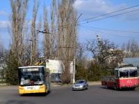 Николаев. КТГ-2 №ТГ-4, ЛАЗ-Е183 №3004