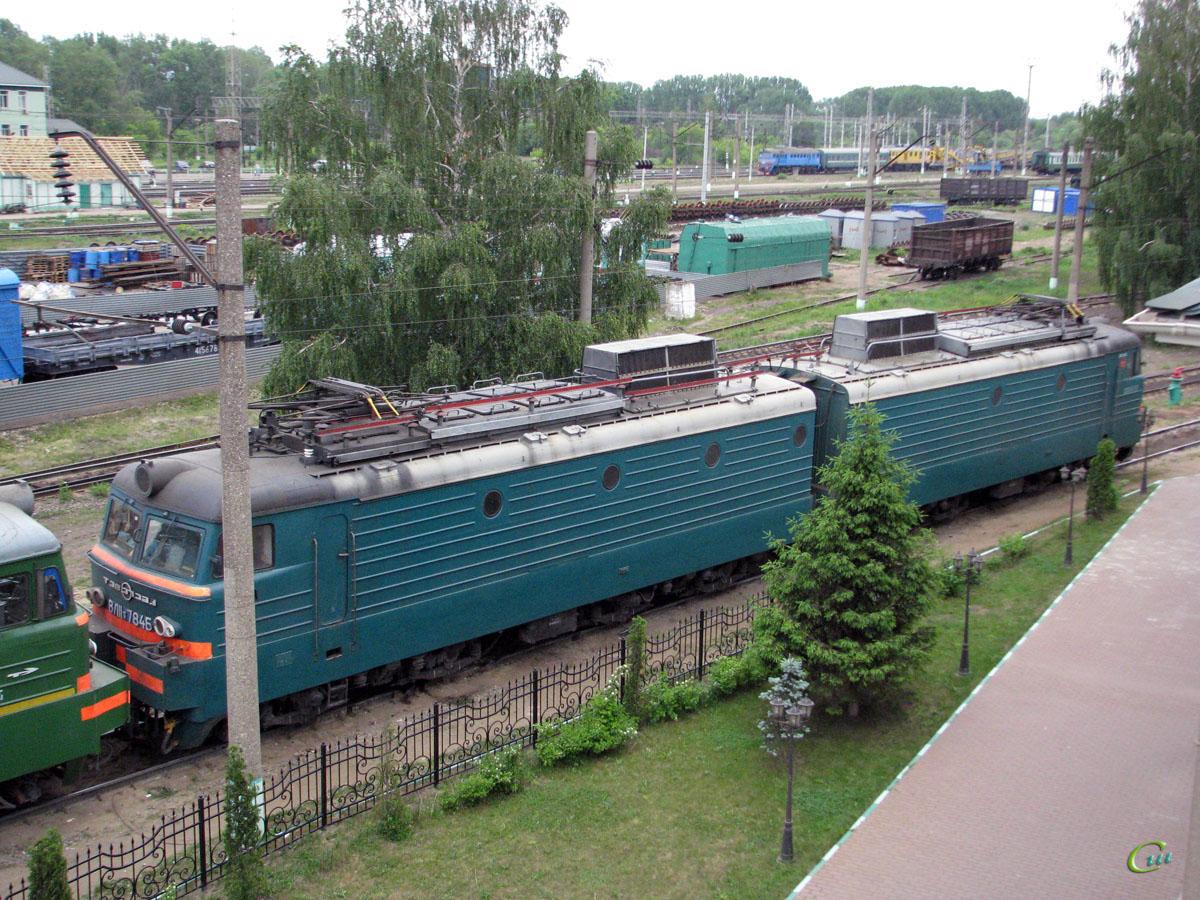 Рязань. ВЛ11-784