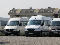 Анталья. Volkswagen Crafter 63 FB 682, Mercedes Sprinter 21 LA 002