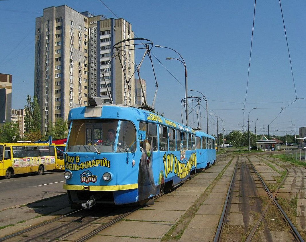 Киев. Tatra T3SU №6002