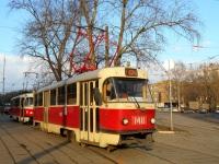 Москва. Tatra T3 (МТТЧ) №1411