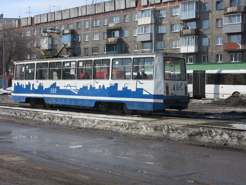 Новокузнецк. 71-605 (КТМ-5) №169
