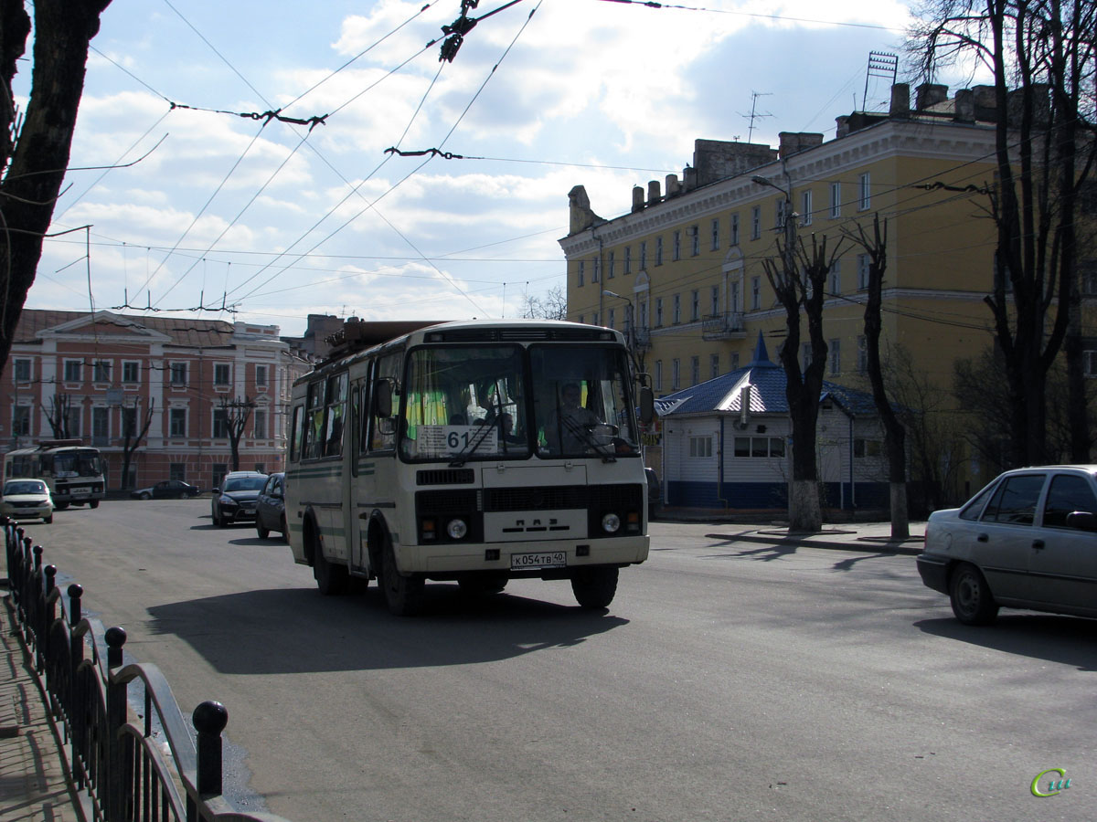 Калуга. ПАЗ-32053 к054тв