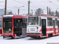 Санкт-Петербург. 71-134К (ЛМ-99К) №5306, ЛМ-68М3 №5677