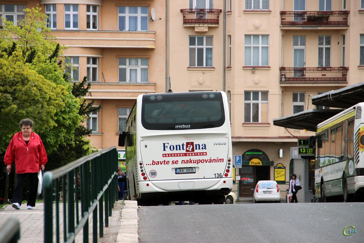 Карловы Вары. Irisbus Crossway LE 12M 2K8 0935
