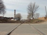 Минск. Промышленная железнодорожная ветка вдоль улицы Харьковской