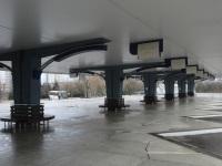 Минск. Автовокзал Восточный, правый перрон, вид от центрального здания
