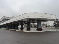 Минск. Автовокзал Восточный, левый перрон, вид от площадки отстоя