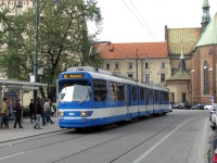 Краков. Duewag GT8S №3043