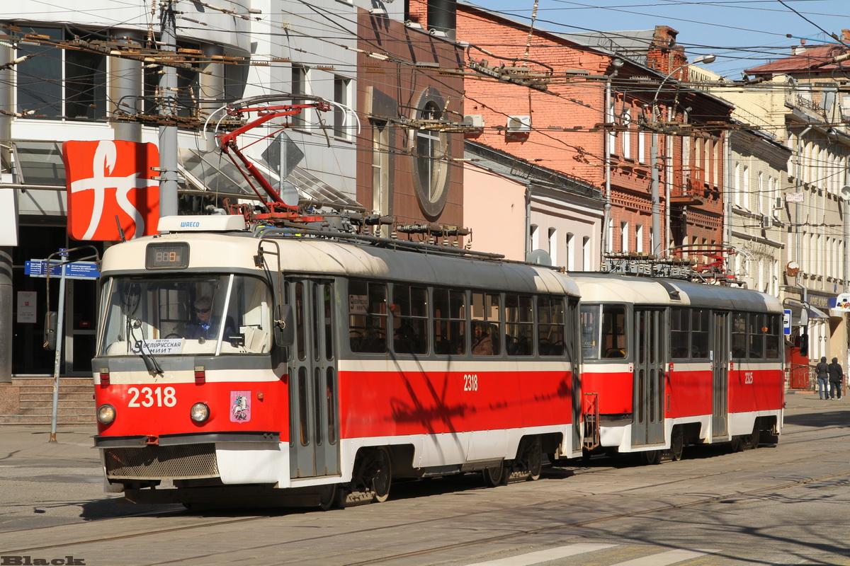 Москва. Tatra T3 (МТТА-2) №2318, Tatra T3 (МТТА-2) №2325