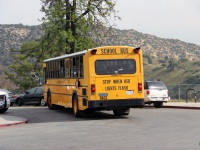 Лос-Анджелес. Gillig Phantom School Bus 6TLY498