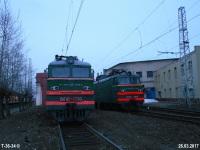 Тверь. ВЛ10-1856, ВЛ10-1733