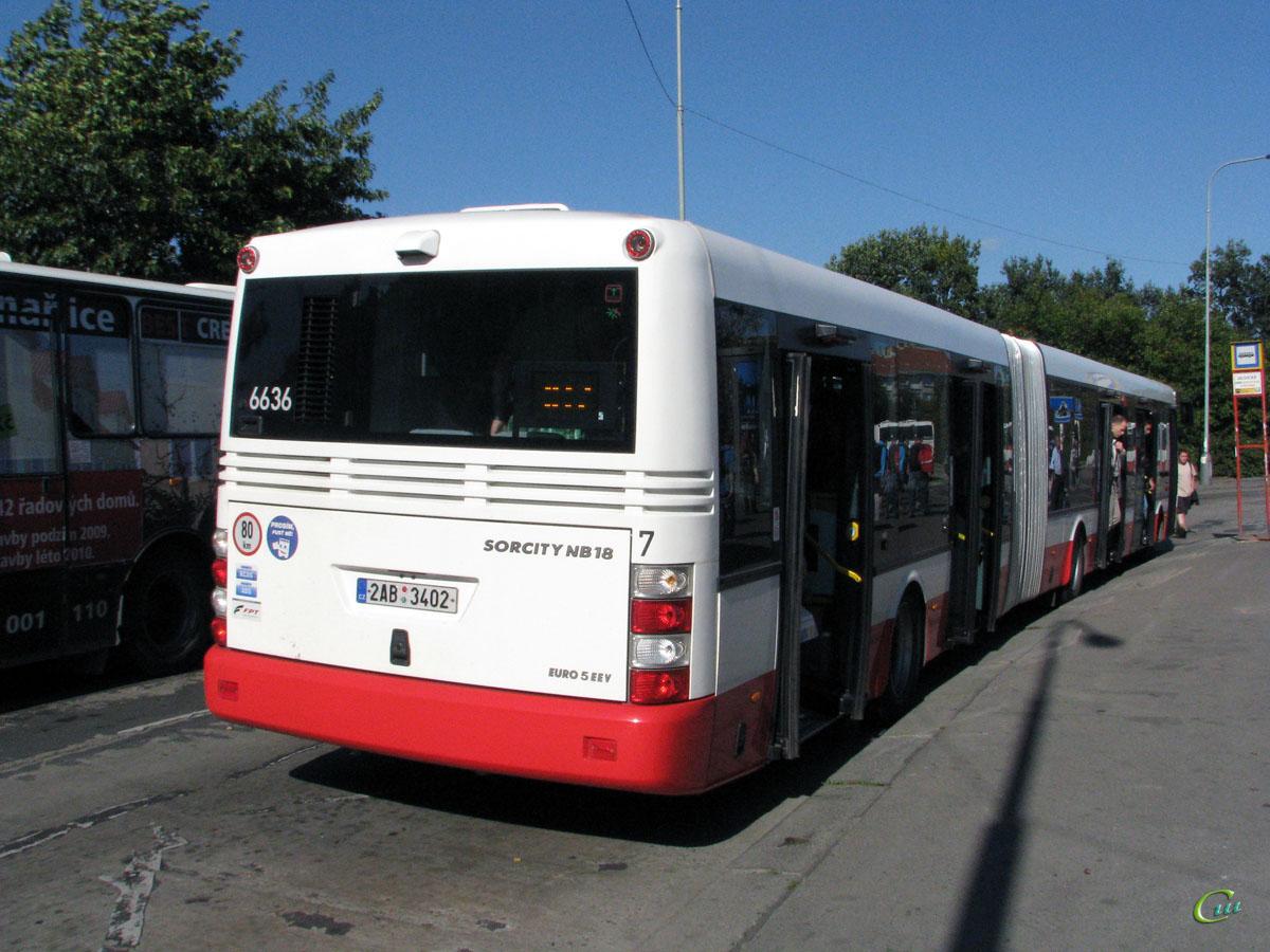 Прага. SOR NB 18 2AB 3402