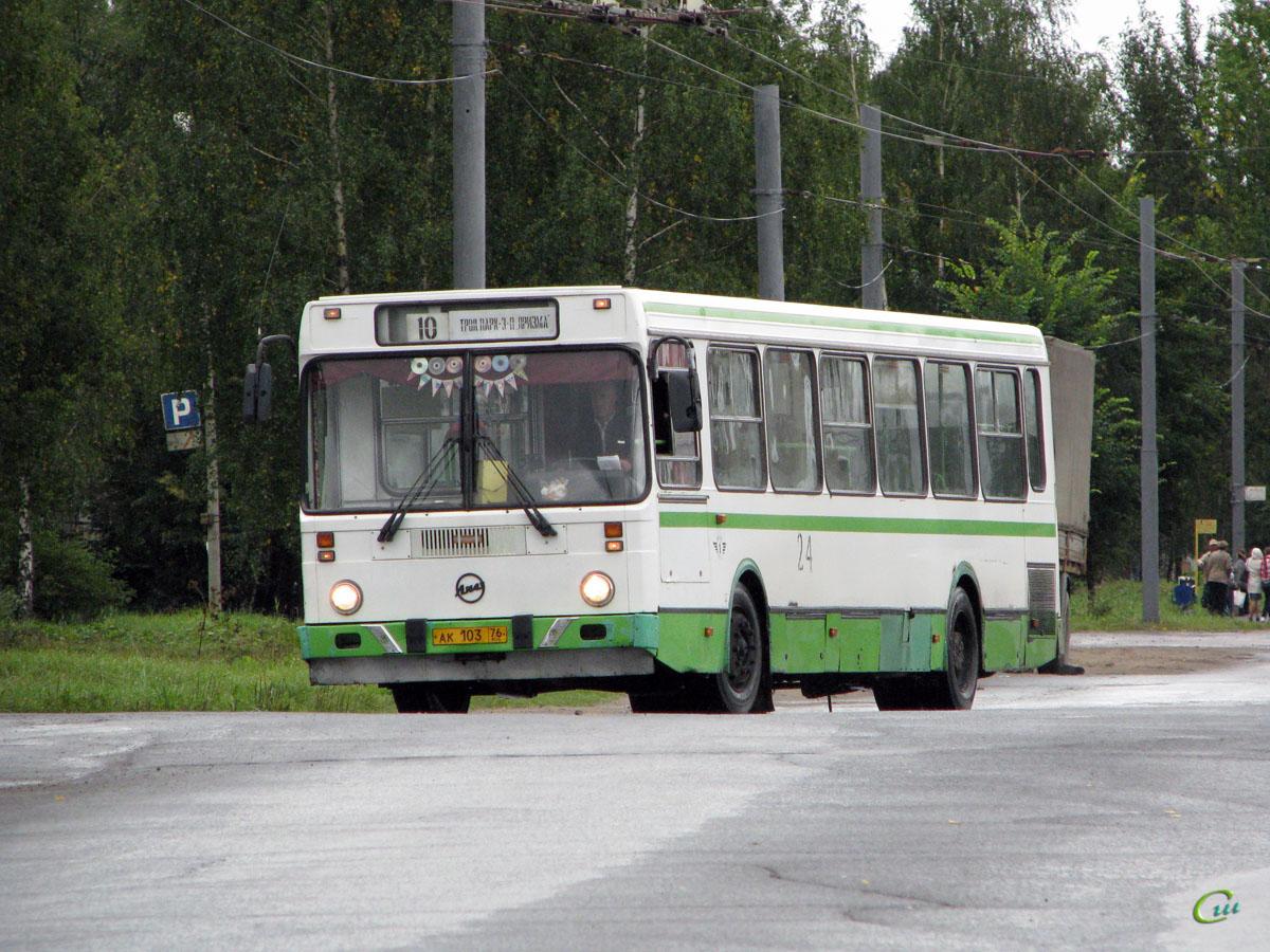Рыбинск. ЛиАЗ-5256.40 ак103