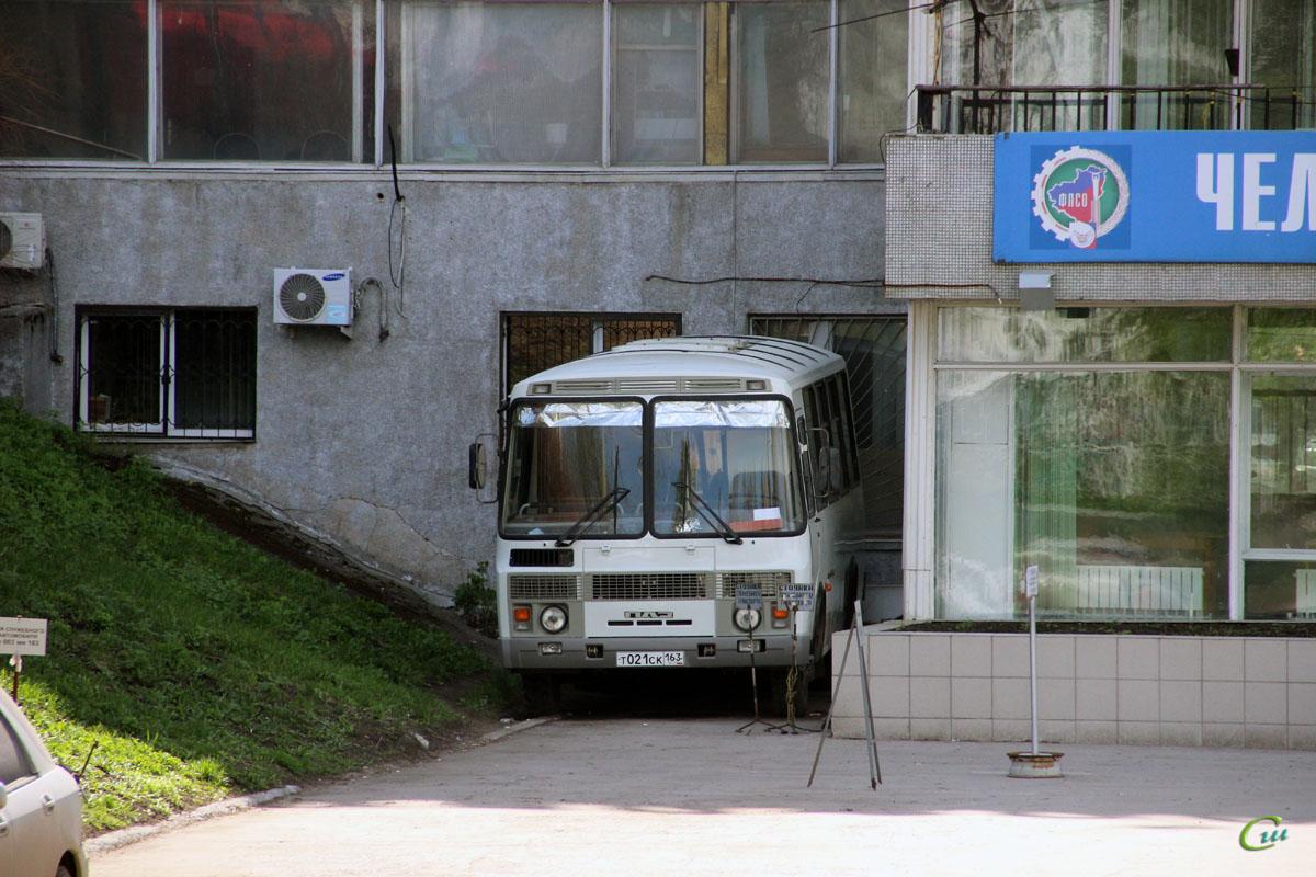 Самара. ПАЗ-32053 т021ск