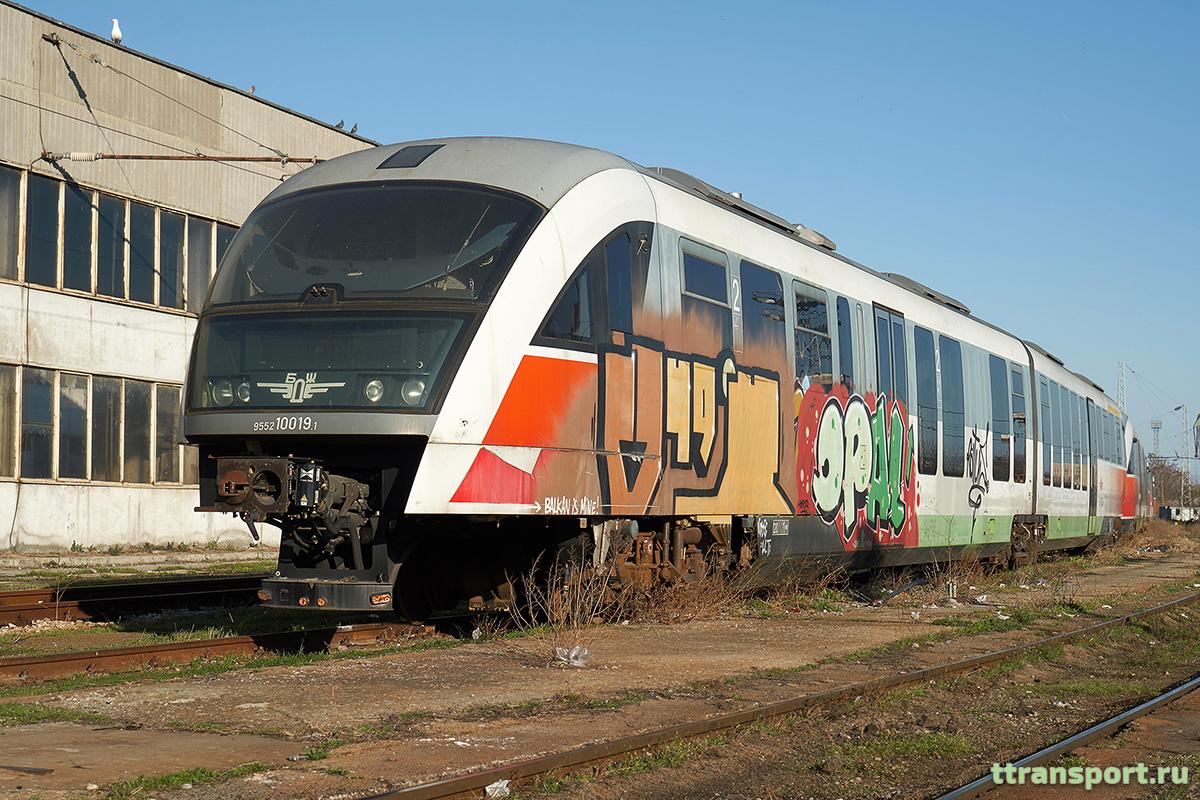 Варна. Siemens Desiro Classic-10019.1