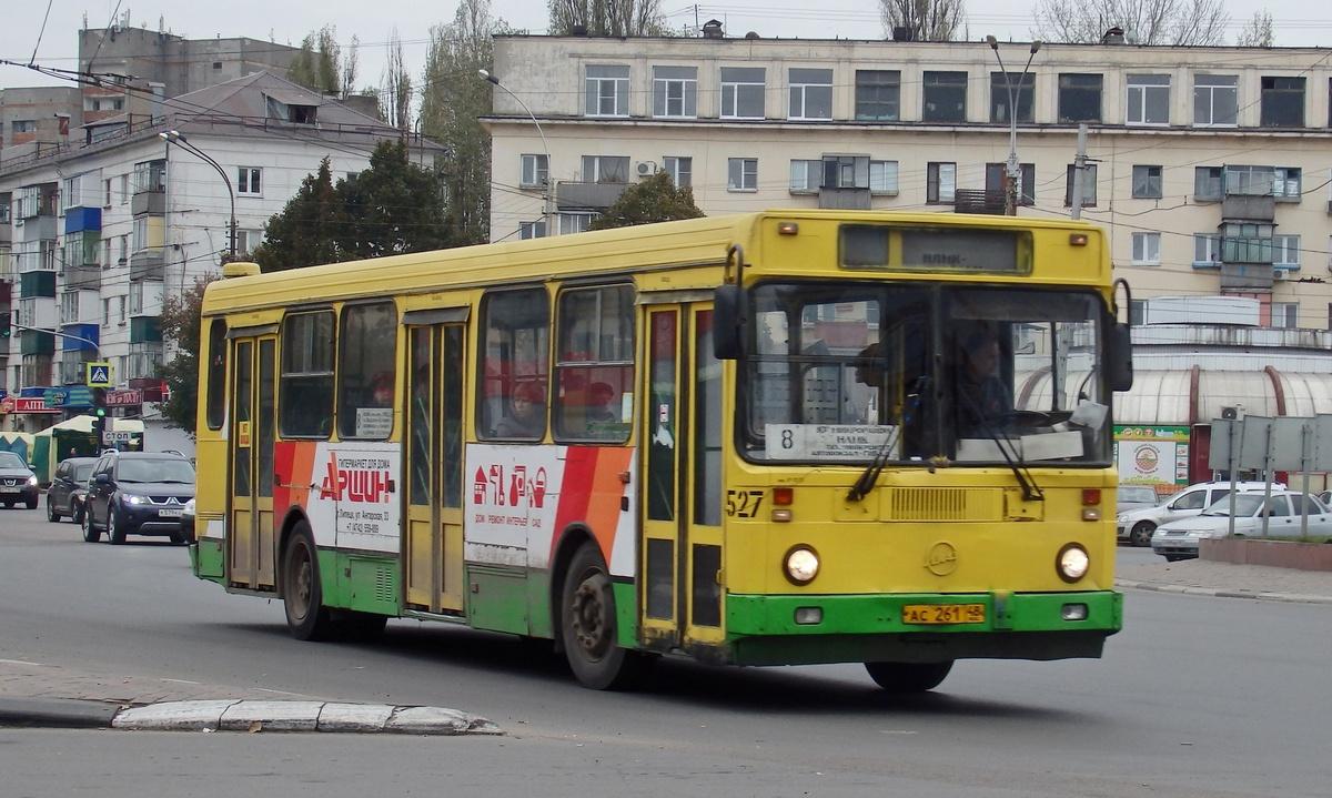 Липецк. ЛиАЗ-5256.45 ас261