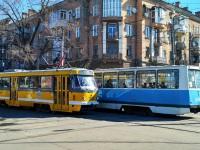 Николаев. 71-605 (КТМ-5) №2114, Tatra T3M.03 №1121