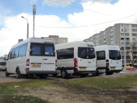 Минск. Mercedes Sprinter 311CDI 5TAX6379, Volkswagen Crafter 5TAX7505, Mercedes Sprinter 7TEX6724