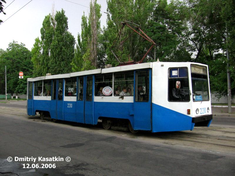 Днепропетровск. 71-608К (КТМ-8) №2210