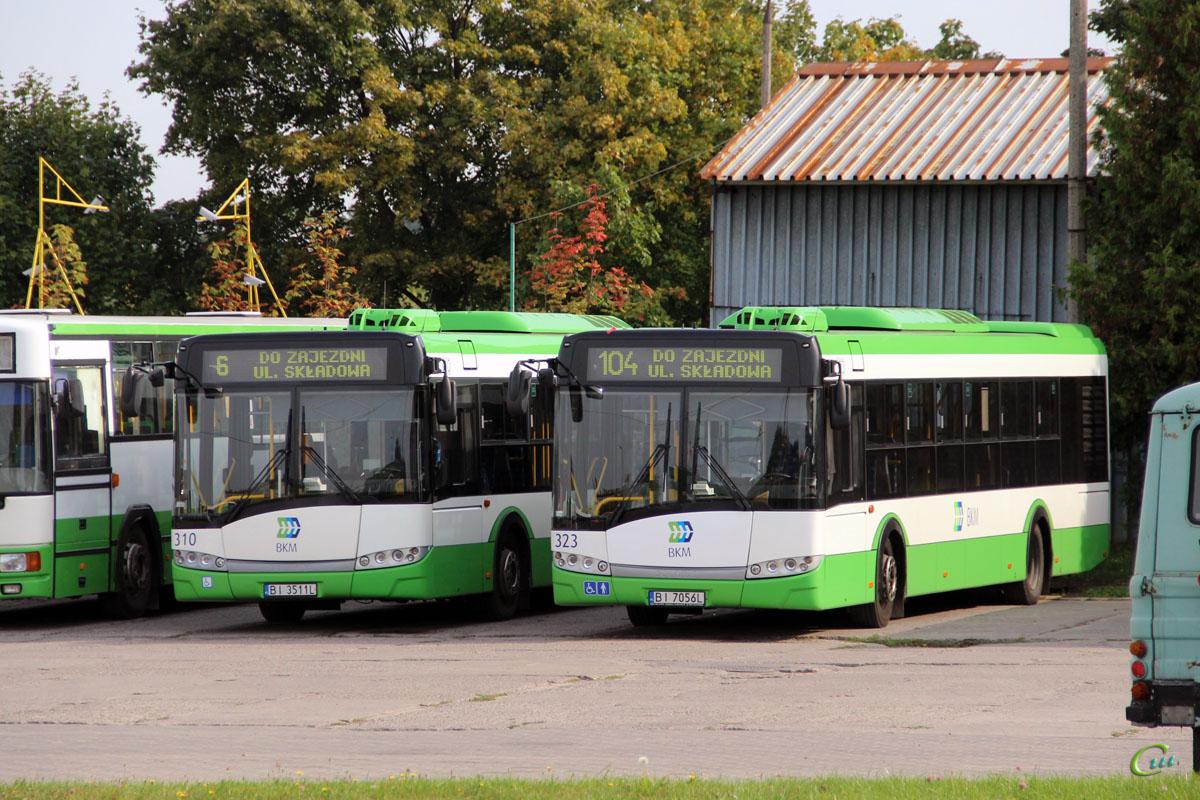 Белосток. Solaris Urbino 12 BI 7056L, Solaris Urbino 12 BI 3511L