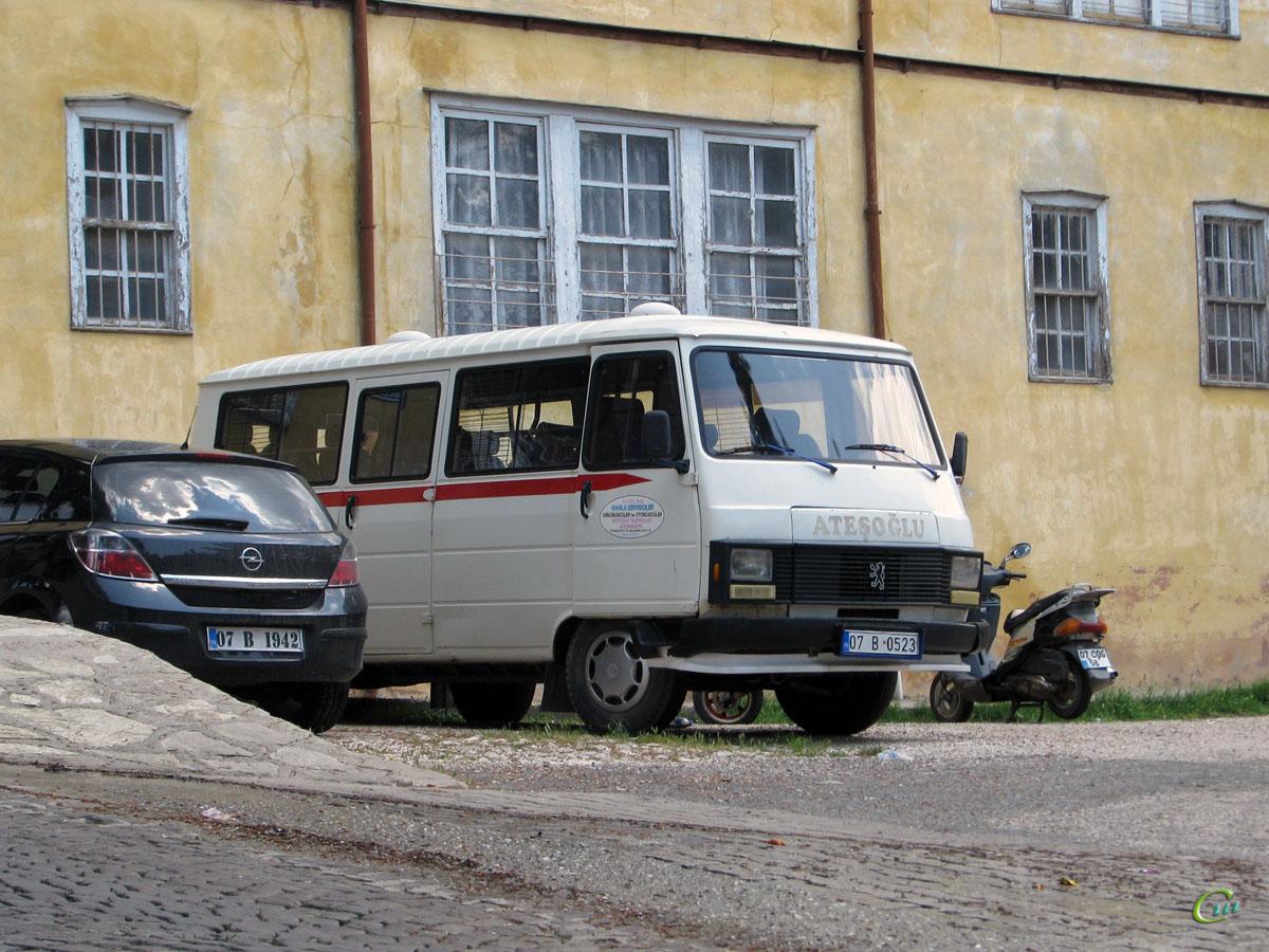 Анталья. Peugeot J9 Karsan 07 B 0523