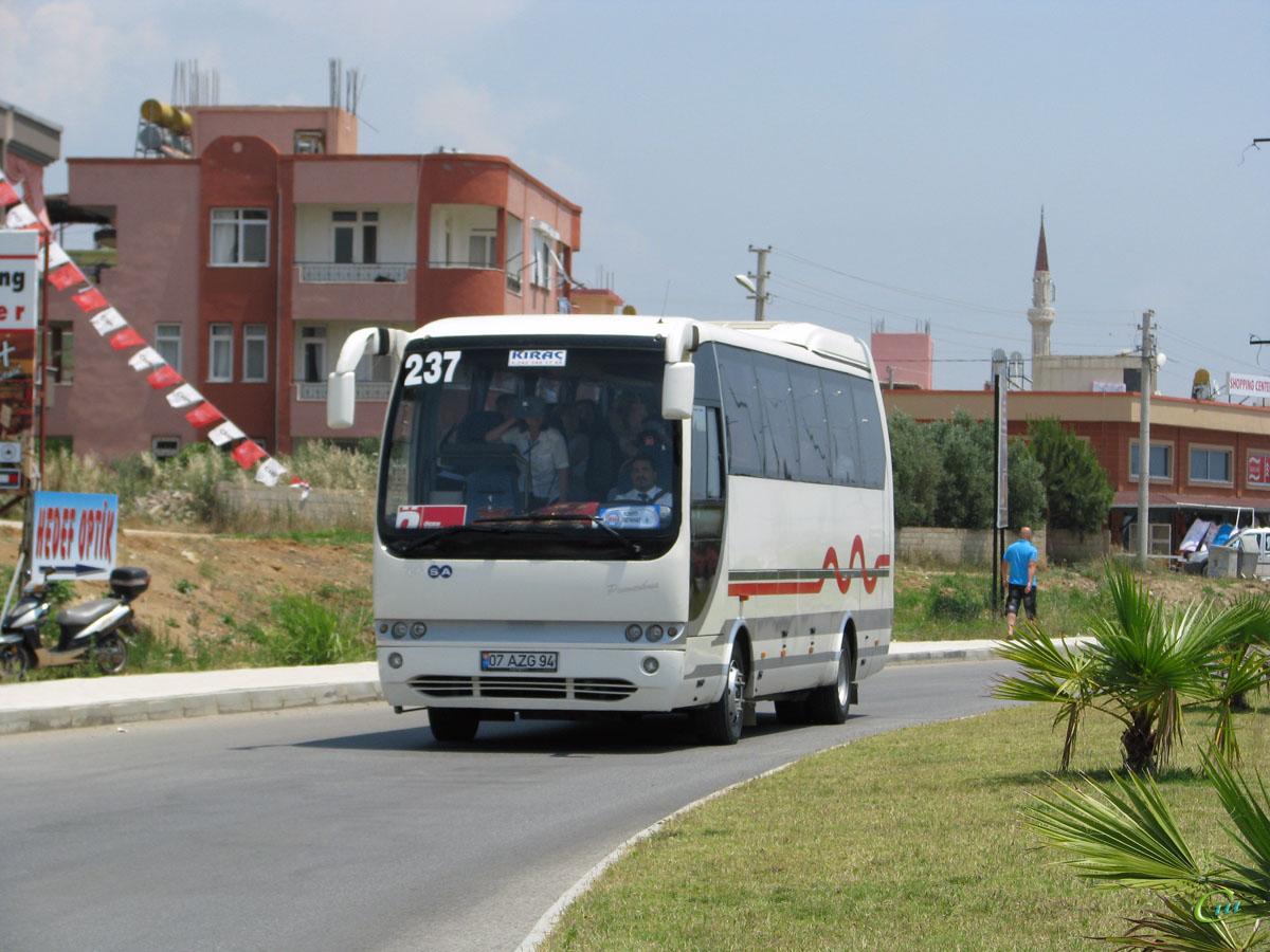 Анталья. TEMSA Powerbus 07 AZG 94