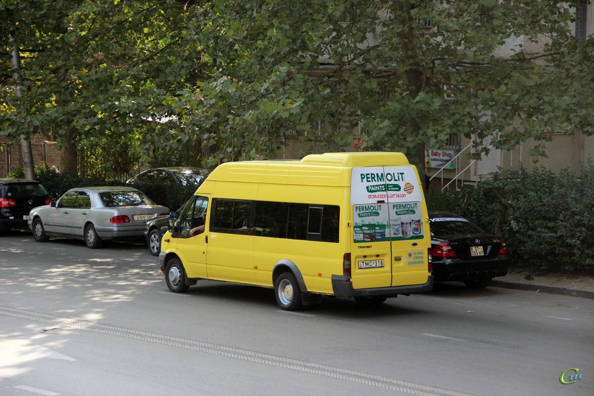 Тбилиси. Avestark (Ford Transit) TMC-318