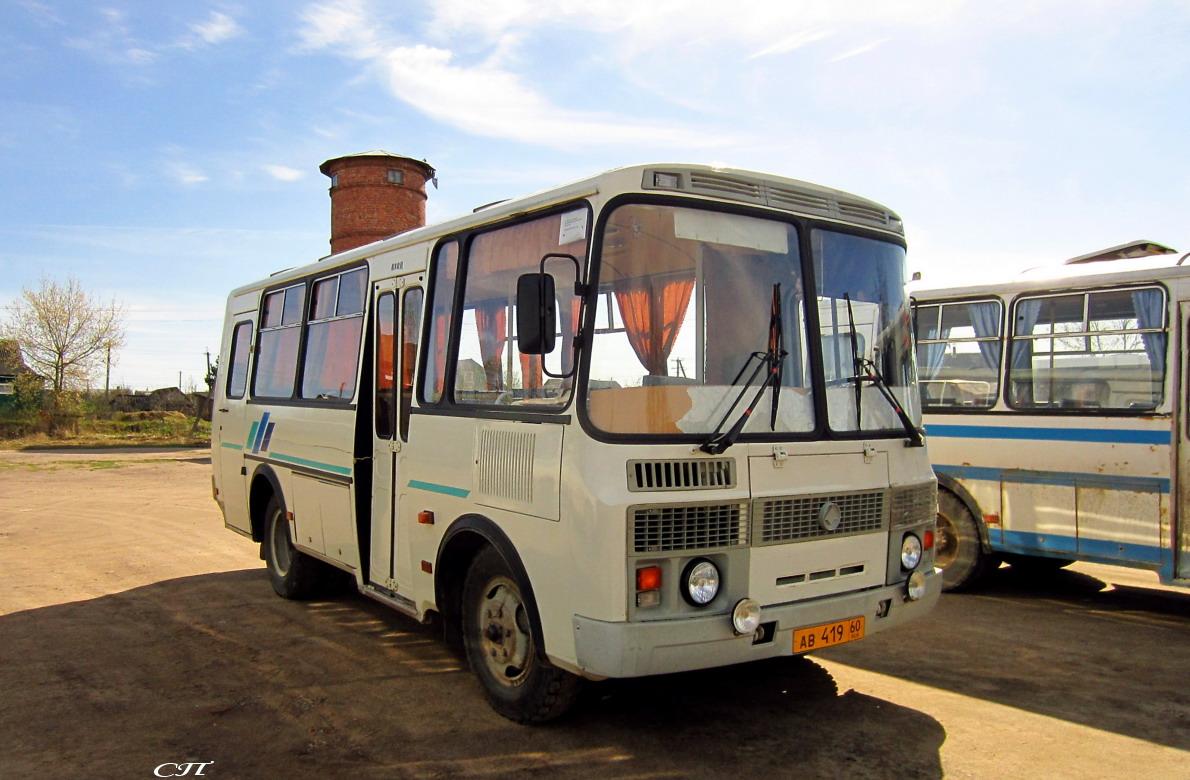 Псков. ПАЗ-32053 ав419