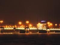 Санкт-Петербург. Трамвай на Сампсониевском мосту