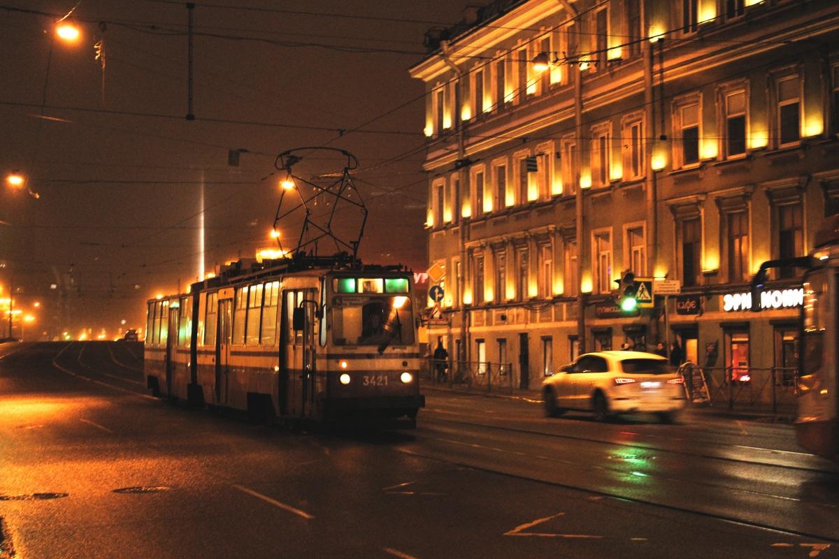 Санкт-Петербург. ЛВС-86К №3421